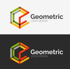 Minimal line design logo