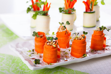 Carrot Roll-Ups