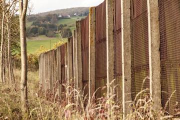 Grenzzaun der ehemaligen DDR-Grenze