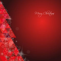 Christmas Background Red Merry Christmas