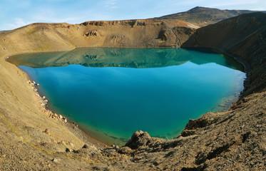 Viti crater lake