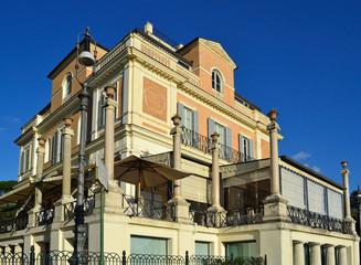 Roma - Veduta della Casina Valadier
