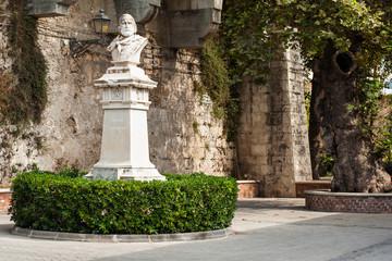 Statue of Garibaldi in Ortigia - Sicily