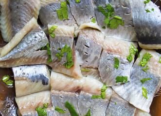 Fillet of a herring