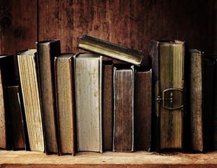 antike Bücher.