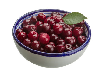 Cherry in the bowl