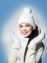 woman winter