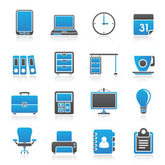 Business and office Icons -vector icon set