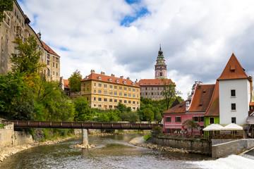 Medieval castle of Cesky Krumlov