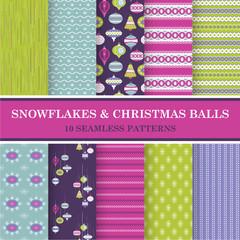 10 Christmas Backgrounds