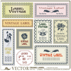 Border style labels on different versions