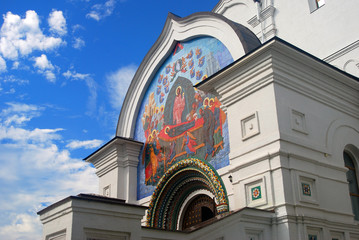 Assumption Church in Yaroslavl, Russia.