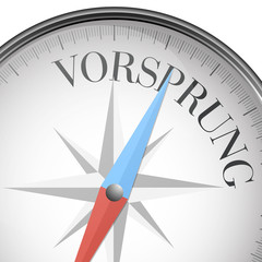 Kompass Vorsprung
