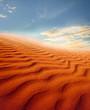Zdjęcia na płótnie, fototapety, obrazy : Sunset over the Sahara Desert