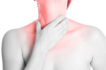wunder Hals - schwarz weiß