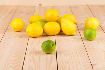 fresh natural lemons