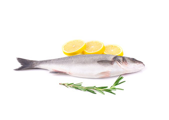 Fresh fish with dill