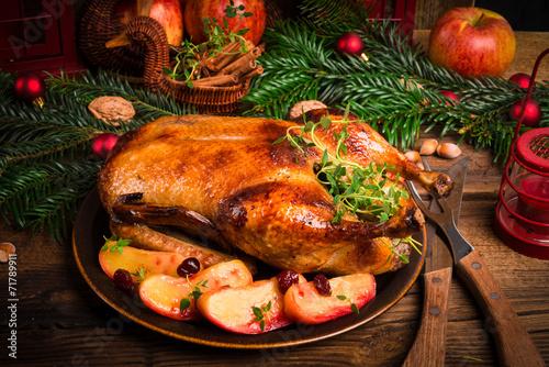 In de dag Vlees Christmas duck