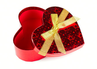 heart-shaped gift box