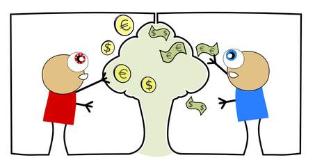 Accroissement d'argent