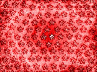 roter Sternehintergrund