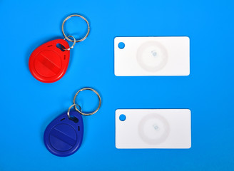 RFID cards and keychain