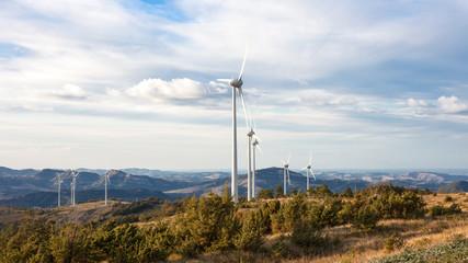 Typical windmill or aerogenerator of aeolian energy