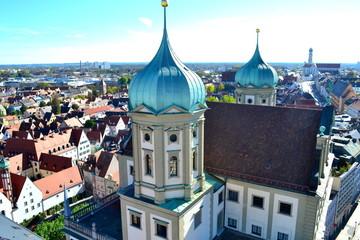 Ausblick aufs Rathaus, Augsburg
