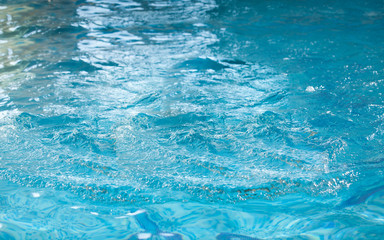 shot of surface of water in swimming pool