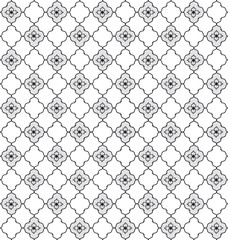 Floral texture. Abstract seamless background. Geometric pattern