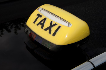 Voiture, taxi