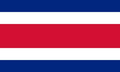 Civil flag of Costa Rica