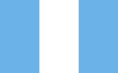 Civil version of Guatemala flag