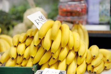 Bananas at market