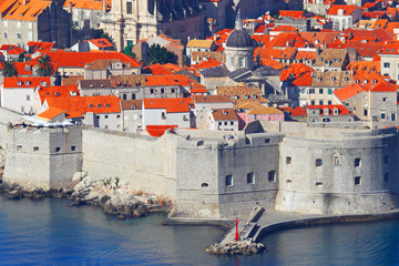 Dubrovnik. Old city. Croatia