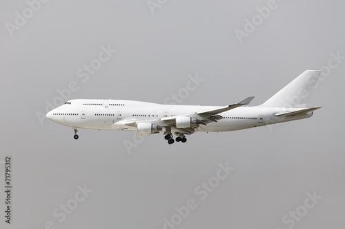 Plane landing - 71795312