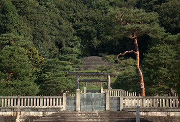 Tomb of Empress Shoken, Kyoto, Japan