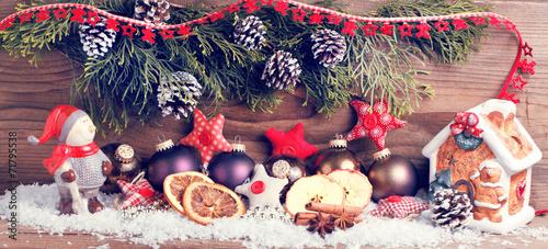 canvas print picture weihnachts dekoration