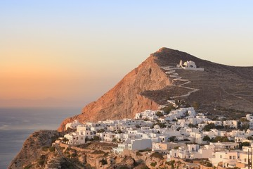Folegandros at sunset