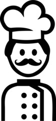 Cook Cooking Pictogram