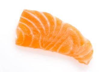 Salmon meat sashimi