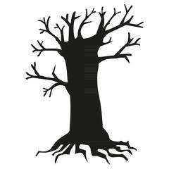 tree black silhouette4