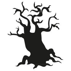 tree black silhouette2