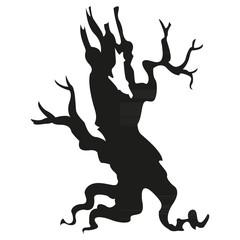 tree black silhouette1