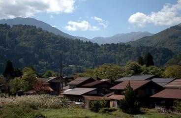 Traditional village, Shirakawa-go, Japan