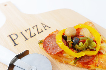 美味いピザ