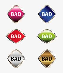 Bad icon button