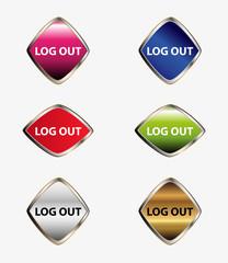 Logout button set