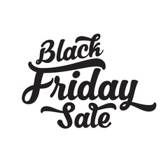 Black Friday Calligraphic Design