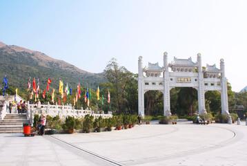 Tian Tan Buddha Statue, Polin monastery, Hong Kong
